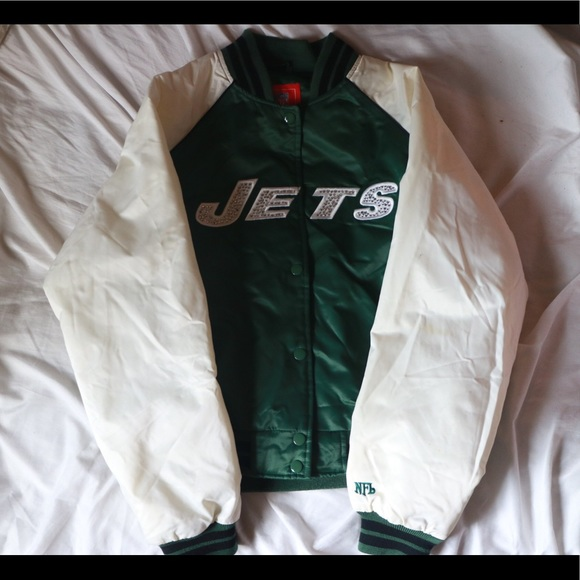 brand new 6ee33 c9781 New York Jets Ladies Varsity Jacket NWT